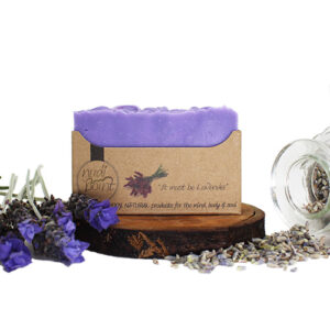 Nudi Point Body Soap – It Must be Lavender