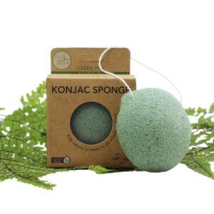Konjac Sponge – Green Tea (To Purify Skin)