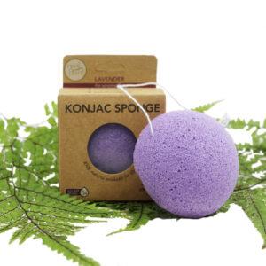 Konjac Facial Sponge – Lavender (For Sensitive Skin)
