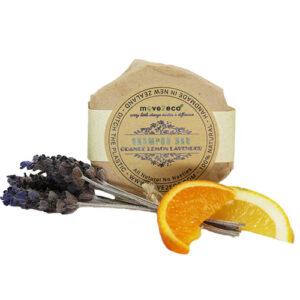 Move 2 Eco Shampoo Bar Orange & Lavender