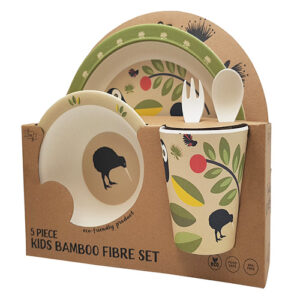 Toodles Noodles Owls and Kiwis 5 Piece Set