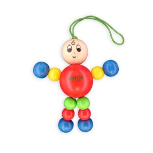 Gepetto Wooden Lulu Baby Toy