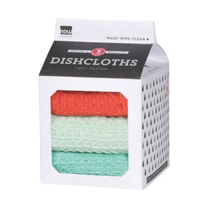 Live Wire 100% Cotton Dish Cloths