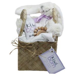 Kiwi Born Baby Deluxe Gift Basket