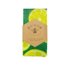 Lily Bee Extra Large Food Wrap-Limes