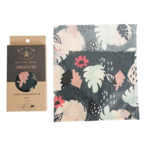 Lily Bee Large Reusable Sandwich Bag-Twilight