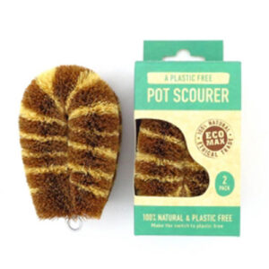 ECOMAX Premium Pot Scourer – 2 Pack