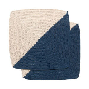 Danica Studio Crochet Dish Cloth – Angela Blue