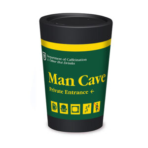 Reusable Coffee Cup – Man Cave